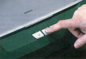 Нажимаем на кнопку замены картриджа